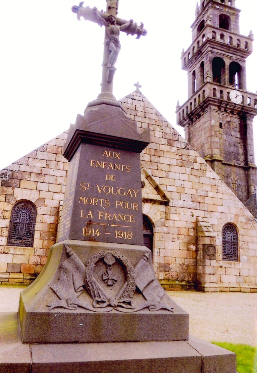 monument aux morts saint vougay