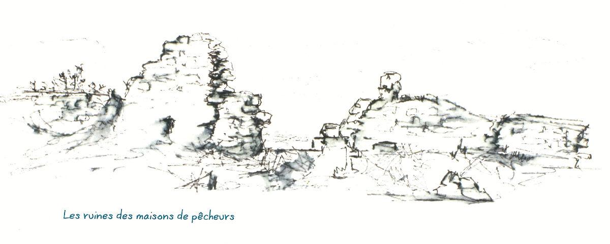 ruines maisons de pecheurs